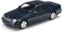 1998 Mercedes Benz CL 600 7.0 AMG Black in 1:18 scale by LS Collectibles