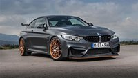 2016 BMW M4 GTS In Matt Grey w Orange Wheels Diecast Model in 1:43 Scale by Minichamps