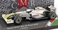 Brawn GP BGP 001 World Champion 2009 in 1:43 Scale by CMR