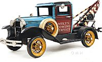 1931 Ford Model A Tow Truck in 1:12 scale by Old Modern Handicrafts
