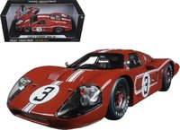 1967 Ford GT40 Mk II #3 Le Mans Andretti in 1:18 Scale by Shelby Collectibles
