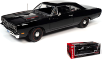 1969 Plymouth RR Hardtop Hemmings Muscle Machines in 1:18 Scale by Auto World