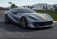 2021 Ferrari 812 Competizione COBURN Grey in 1:18 scale by BBR