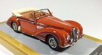 1949 Delahaye 175S Dandy Cabriolet Chapron sn815028 Resin Model Car in 1:43 Scale by Ilario