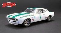1967 Chevrolet Camaro Z/28 Alan Green Chevrolet #7 in 1:18 Scale by GMP