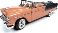 1955 Chevy Bel Air Convertible in 1:18 Scale by Auto World