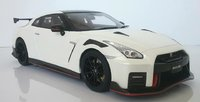 2020 Nissan GT-R in white in 1:18 scale by Kyosho