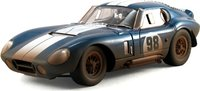 "1965 Shelby Cobra Daytona Coupe ""After Race"" Hard Top #98 in 1:18 scale by Shelby Collectibles"