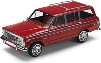 1963 Jeep Wagoneer Red in 1:18 scale by LS Collectibles