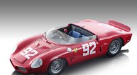 Ferrari Dino 246 SP #92 Nurburgring 1962 Winner P. Hill, O. Gandebien Limited Edition 80 Pieces in 1:18 scale by Tecnomodel