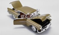 1957 Oldsmobile Super 88 in Gold Mist by Acme in 1:18 Scale