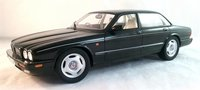 1995 Jaguar XJR X300 in Metallic Black Resin Model in 1:18 Scale by Cult Models