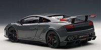Lamborghini Gallardo LP570 Supertrofeo Stradale in Grigio Telesto/Grey Diecast Model Car in 1:18 Scale by AUTOart