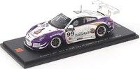 2013 Porsche 911 GT3 R 4.0 n.99 3rd City Of Dreams Macau GT CUP Model Car in 1:43 Scale by Spark