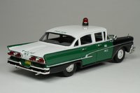 1958 Ford Custom 300 New York Police Car in 1:43 scale by Goldvarg.