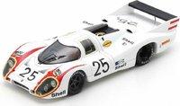 Porsche 917 No.25 Pole Position 24H Le Mans 1970 in 1:43 Scale by Spark