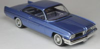 1961 Pontiac Catalina Twilight Mist in 1:43 scale by Goldvarg Collection