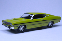 1969 Ford Torino Yellow in 1:43 scale by Goldvarg Collection