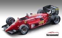 Ferrari 156-85 #27 1985 Canada GP  Michele Alboreto in 1:18 scale by Tecnomodel