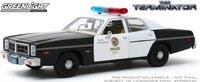 1977 Dodge Monaco Metropolitan Police The Terminator (1984) in 1:24 scale by Greenlight