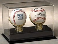 Double Baseball Display Case & Gold Glove Display Case by NCaseIt