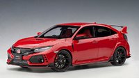 Honda Civic Type R (FK8), Flame Red in 1:18 Scale by AUTOart