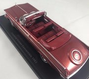 1963 Chrysler Imperial Crown Convertible Resin Model Car in 1:43 Scale by Neo