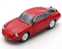 """Alfa Romeo Giulietta Sport Zagato """"Coda Tronca"""" 1962 in 1:43 Scale by Spark"""