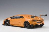 2015 Lamborghini Huacan Super Trofeo Pearl Orange Comosite Model in 1:18 Scale by AUTOart