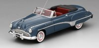 1949 Buick Roadmaster Convertible in Mariner Blue Model Car in 1:43 Scale by Truescale Miniatures