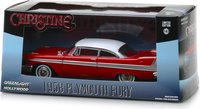 "1958 Plymouth Fury red ""Christine"" movie 1983 in 1:43 scale by Greenlight"