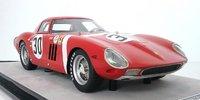 Ferrari 250 GTO 1964 24h Sebring. NART #30 David Piper in 1:18 scale by Tecnomodel