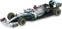 Mercedes AMG Petronas EQ Performance Lewis Hamilton in 1:43 scale by Minichamps