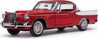 1957 Studebaker Golden Hawk Apache Red in 1:18 Scale by Sunstar