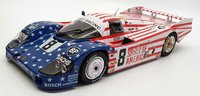 Porsche 956 3rd Le Mans 1986 #8 Spirit Of America in 1:18 scale by Solido