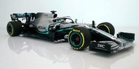 Mercedes Benz AMG Petronas 2019 Chinese GP winner Lewis Hamilton in 1:18 scale by Minichamps