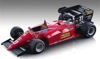 1984 Ferrari 126 C4-M2 European GP #27 in 1:18 Scale by Tecnomodel