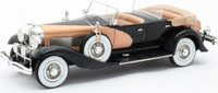 1935 Duesenberg SJ Dual Cowl Phaeton La Grande open in 1:43 scale by Matrix