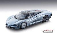 McLaren Speedtail  Geneva Autoshow 2019 in 1:43 scale site LE 99 Pcs by Thecnomodel
