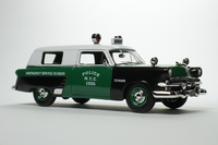 """1953 Ford Courier New York """"Emergency Service Division"""" in 1:43 Scale by Goldvarg"""