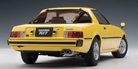 MAZDA SAVANNA RX-7 (SA) - SPARK YELLOW  Diecast Model Car in 1:18 Scale by AUTOart