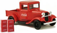 1934 Ford Model A Pickup with 6 bottle cartons in 1:43 scale by Motor City Classics