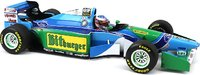 1994 BENETTON FORD B194 MICHAEL SCHUMACHER AUSTRALIAN GP WORLD CHAMPION in 1:18 scale by Minichamps