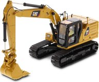 Cat® 323 Hydraulic Excavator with 4 new work-tools Next Generation in 1:50 scale by Diecast Masters