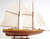 Bluenose II Fully Assembled Sailboat by Old Modern Handicrafts
