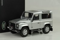 1984 LAND ROVER Defender 90 in Silver by Kyosho in 1:18 Scale