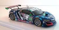 Acura NSX GT3 Statue of Liberty 2017 IMSA Championship Watkins Glen in 1:43 Scale by TSM