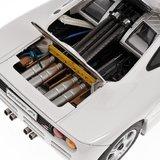 1994 MCLAREN F1 GTR ROADCAR in White Diecast Model Car in 1:12 Scale by Minichamps