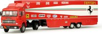 Ferrari Transporter set; Fiat 170 + 126Ck T-CAR + 2 mechanic in 1:43 scale by BRUMM