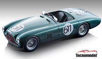 Aston Martin DB3S Spyder #611  Mille Miglia 1953 5th Place in 1:18 Scale by Tecnomodel